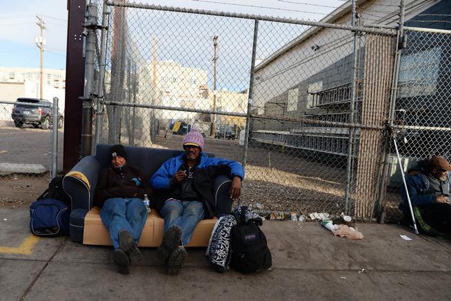 Encampment enforcement