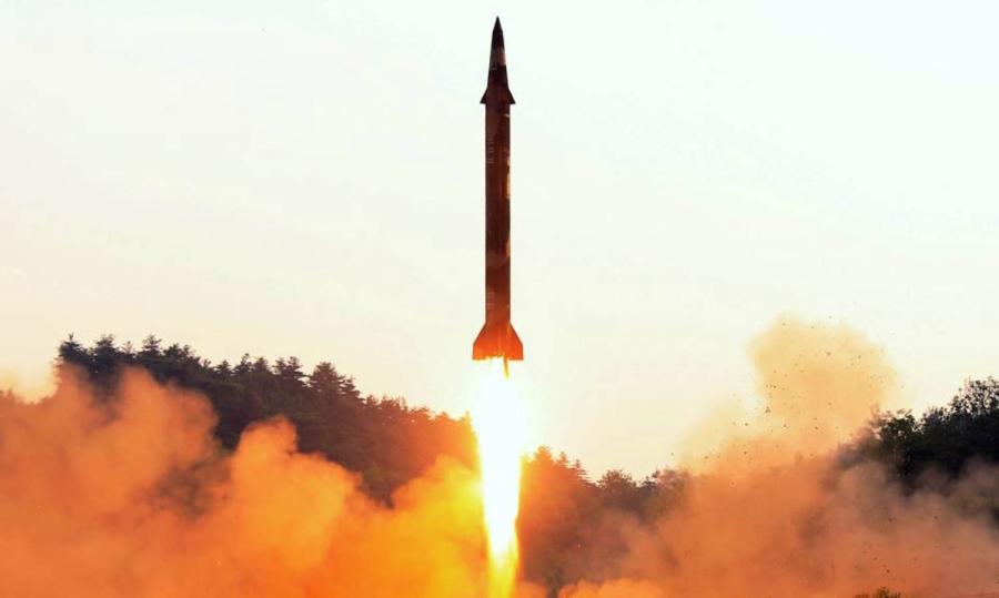 North - Korea-Fires -Missile-Over - Japan-CrimeShop