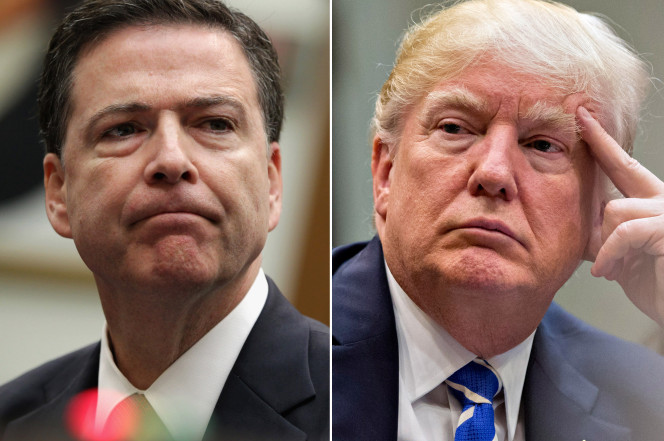 Donald Trump - vs- James-comey.-crime-Shop