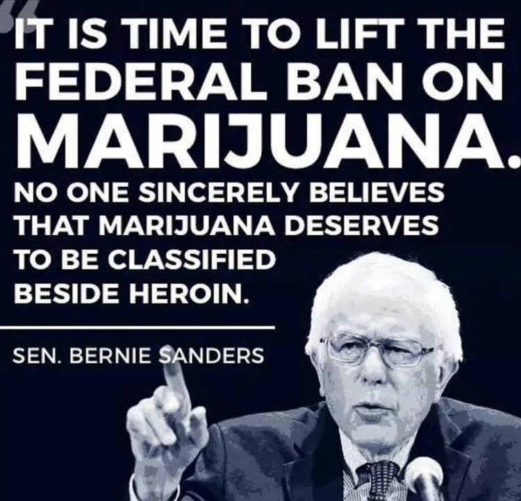 Declassify Marijuana-Bernie Sanders-Crimeshop