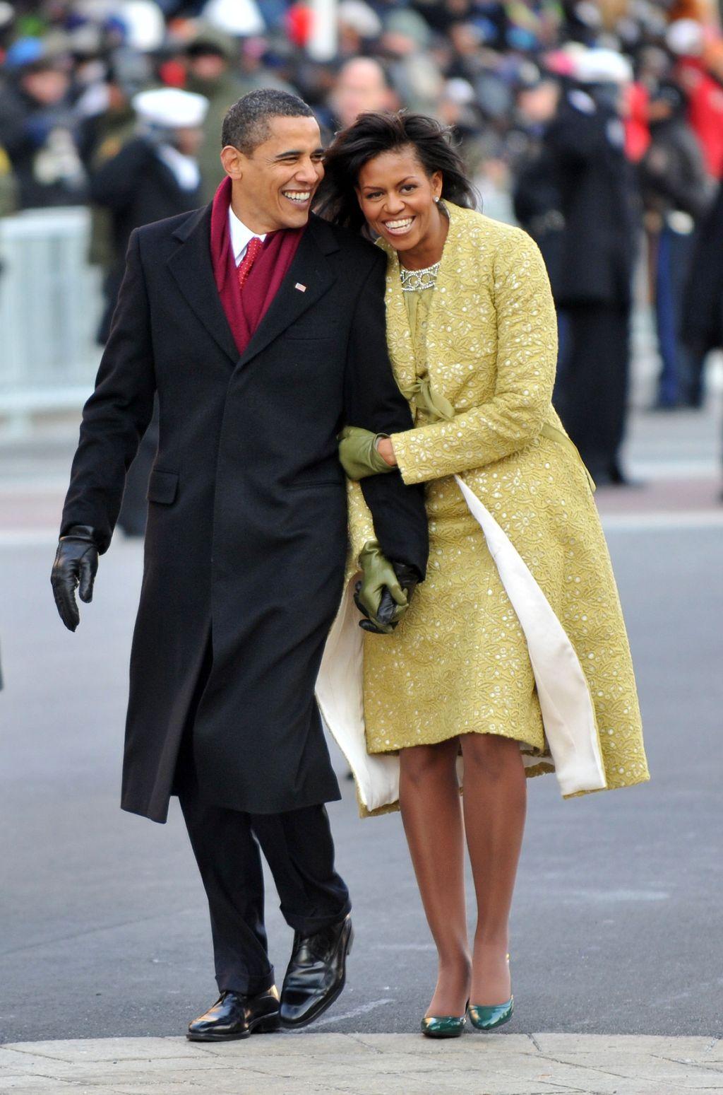 Inauguration Ceremony of United States President, Barack Obama, US Capitol, Washington DC, America - 20 Jan 2009