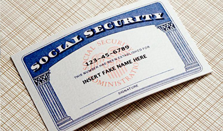 Cybercriminals selling socials security numbers of babies for Make a social security card template