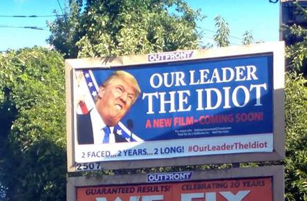 billboard-trump-idiot-crimeshop