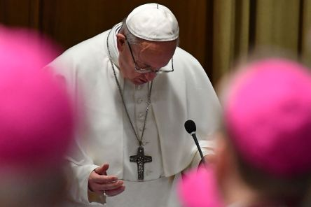 VATICAN-RELIGION-POPE-CHILDREN-ASSAULT-SUMMIT